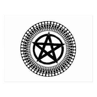 種族の星形五角形 ポストカード
