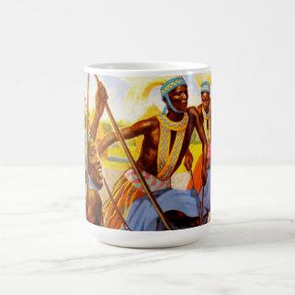種族の歌手 コーヒーマグカップ