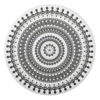 種族の民俗花の装飾用の円のウクライナ語 消しゴム