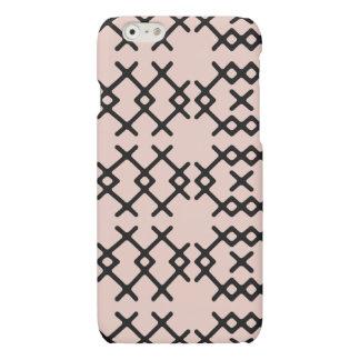 種族の淡い色のなミズキのピンクの遊牧民の幾何学的な形