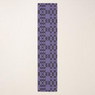 種族の紫外紫色の遊牧民の幾何学的な形 スカーフ