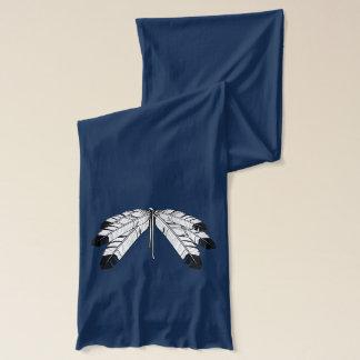 種族の芸術のスカーフの天然芸術のワシの羽のスカーフ スカーフ