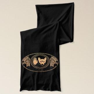 種族の芸術のスカーフのMetisのオオカミの旗のスカーフのギフト スカーフ