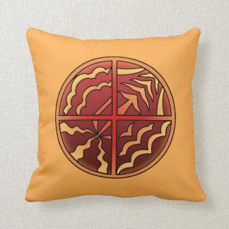 種族の芸術の枕最初国家の芸術の枕 クッション
