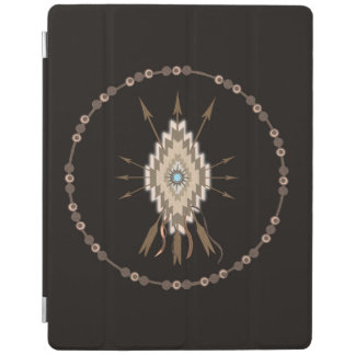 種族の記号の友情のモチーフのiPad Smartcover iPadスマートカバー