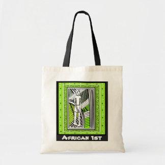 種族の農家- Aftricanの芸術 トートバッグ