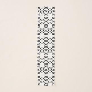 種族の遊牧民の幾何学的な形 スカーフ