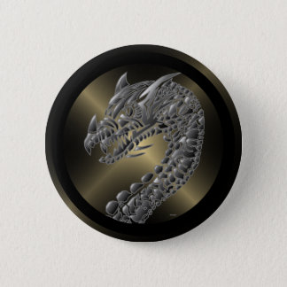 種族の金属ドラゴン 缶バッジ