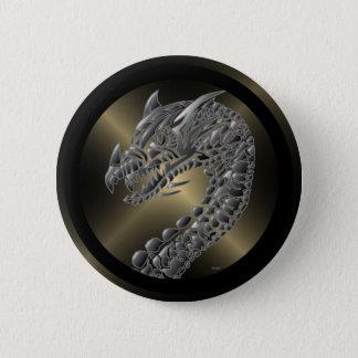 種族の金属ドラゴン 5.7CM 丸型バッジ