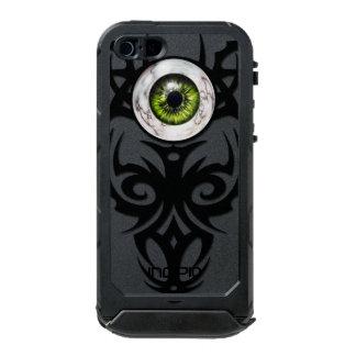 種族の、緑の大理石の目 ウォータープルーフiPhone SE/5/5sケース
