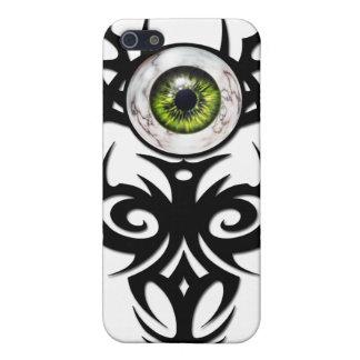 種族の、緑の大理石の目 iPhone 5 CASE