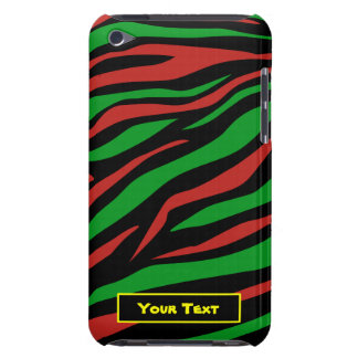 種族はQuest - ipod touchの赤い緑の箱--を電話しました Case-Mate iPod Touch ケース