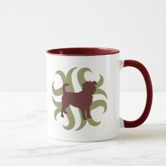 種族アーフェンピンシャー マグカップ