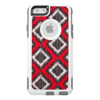 種族クールで赤くおよび黒いIkkat オッターボックスiPhone 6/6sケース