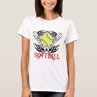 種族ソフトボール Tシャツ