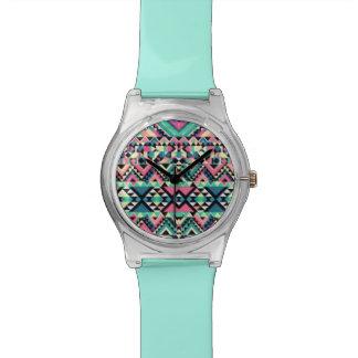 種族パターン腕時計 腕時計