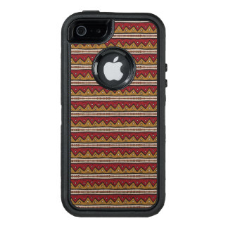 種族パターン オッターボックスディフェンダーiPhoneケース