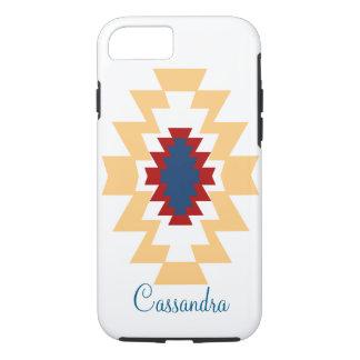 種族南西アステカなムギのネイティブアメリカン iPhone 8/7ケース