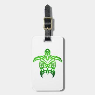 種族緑のウミガメ ラゲッジタグ