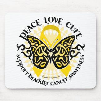 種族膀胱癌の蝶 マウスパッド