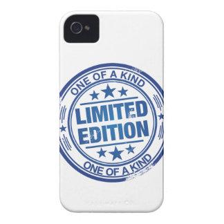 種類の1つ-青いゴム印の効果 Case-Mate iPhone 4 ケース