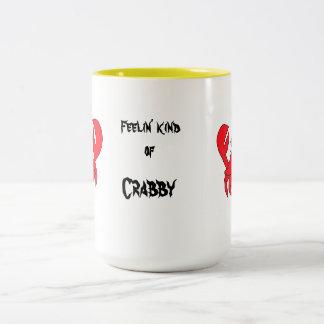 種類のCrabbyマグ ツートーンマグカップ