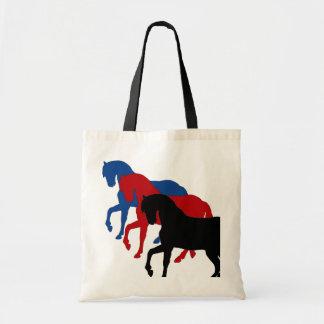 種馬のsillouettes、トートバック トートバッグ