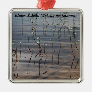 種: 水ロベリア メタルオーナメント