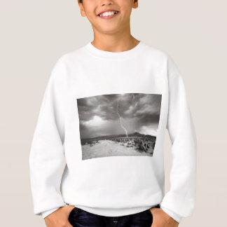 稲妻のジョシュアツリーB&W スウェットシャツ