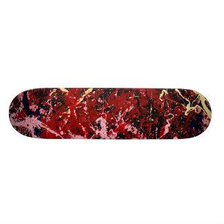 稲妻のフラッシュ(抽象美術のデザイン)の~ スケートボード