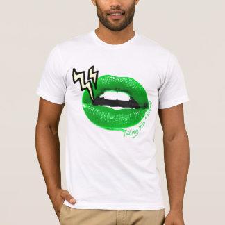 稲妻の唇 Tシャツ