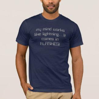 稲妻の心 Tシャツ