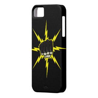 稲妻の握りこぶしMMAのiphone 5の場合 iPhone 5 Case
