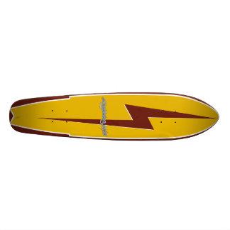 稲妻の波 18.1CM オールドスクールスケートボードデッキ