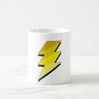 稲妻の落雷 コーヒーマグカップ