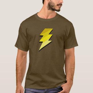 稲妻の落雷 Tシャツ