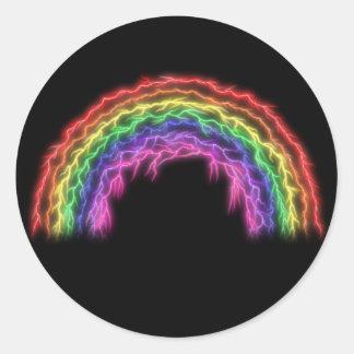 稲妻の虹 ラウンドシール