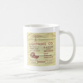 稲妻の記録物 コーヒーマグカップ
