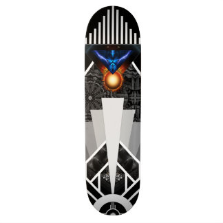 稲妻のDecoの機械式の火炎信号のスケートボードのデッキの翼 スケートボード