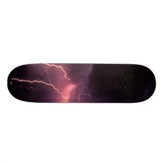 稲妻板 スケートボード