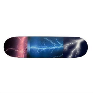 稲妻板 21.6CM スケートボードデッキ