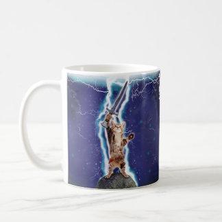 稲妻猫 コーヒーマグカップ
