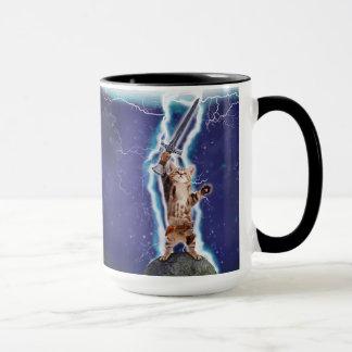 稲妻猫 マグカップ