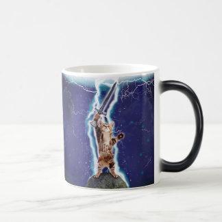 稲妻猫 マジックマグカップ