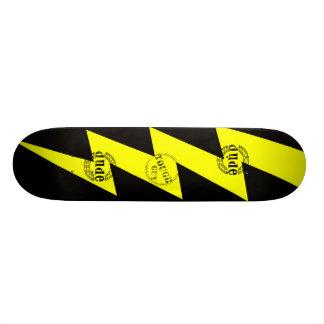 稲妻 18.1CM オールドスクールスケートボードデッキ