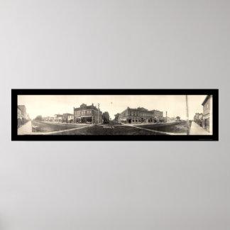 穀倉、IAの写真1907年 ポスター