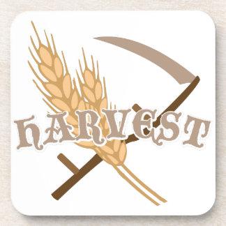 穀物の収穫 コースター