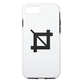 穀物用具のピクトグラムのiPhone 7の場合 iPhone 8/7ケース