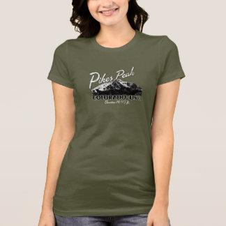 穂先ピークコロラド州米国 Tシャツ