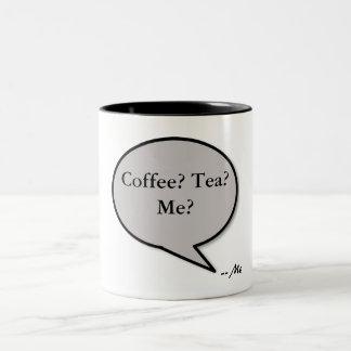 積み込みライン -- コーヒーか。 茶か。 私か。 ツートーンマグカップ